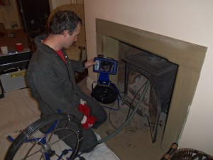 Chimney cctv Survey | chimney cctv | chimney inspection